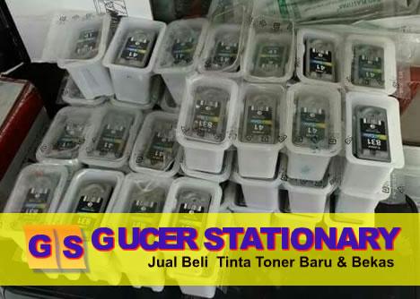 GUCER STATIONERY | JUAL BELI TINTA TONER BARU DAN BEKAS